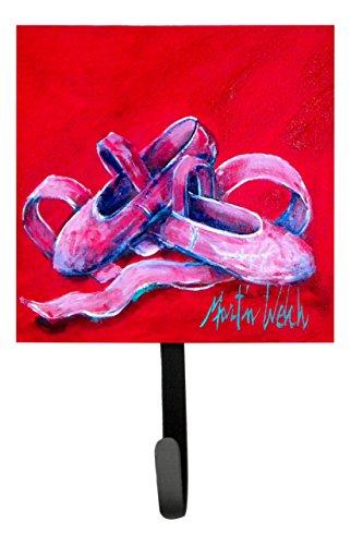 Caroline's Treasures MW1039SH4 Ballet Little Slippers Leash or Key Holder, Small, Multicolor (Caroline Slipper)