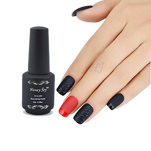 Matt Top Coat Nail Art UV Gel Polish Matte Top coat LED UV Soak Off Nails Tools UV Gel Polish Pack of 1 (Nail Polish Clear Essie)