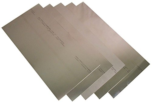 Precision Brand 22445/22LF8 - Sheet Shim Assortment, Stainless Steel, Inch, 8