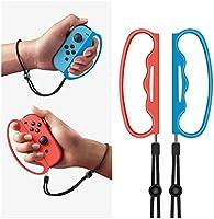 Nintendo Switch Joy-Con用Fit Boxing グリップ コントローラー グリップ 2個セット NS Fit Boxing 対応 フィットボクシング対応 ハンドル Joy-Con用ハンドルクリップ...