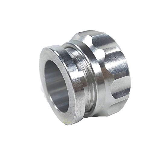 """Discount 1""""/1.5""""/2""""/2.5""""Aluminium Alloy Weld On Filler Neck Oil Fuel Water Tank Reservoir Cap (1.5"""" / 38mm) for cheap"""