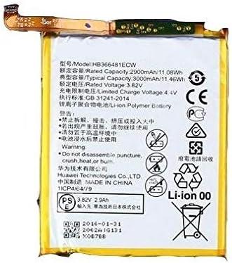 Bater/ía Pila Original Huawei P9/hb366481ec W EVA-L09/L19/OEM interna Bulk cartero Repuesto Interno Akku Genuine para m/óvil