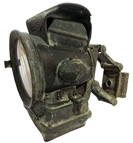 Antiques World Classic Vintage Stunning Rare Jos. Lucas Club New Holophote Birmingham Silver King Antique Bicycle Oil Lamp Lantern Light Made in England AWUSAML 071