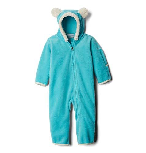 (Columbia Unisex Baby Infant Tiny Bear II Bunting, Geyser,)