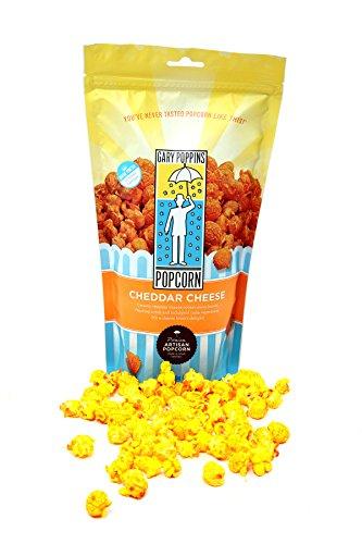Gourmet Flavored Popcorn (Gary Poppins Popcorn - Gourmet Handcrafted Flavored Popcorn, Cheddar Cheese (4oz))