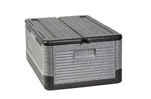 Flip-Box XL Insulation Box - Fits 60 Cans, Collapsible Iceless Cooler Perfect for Tailgating, Picnics, and Beach - Cooler Folding