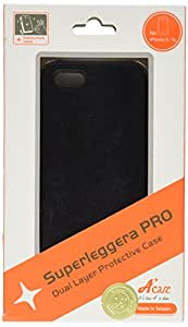 Acase Dual Layer iPhone 5 & 5s Case / Cover - Superleggera Pro Fit for New iPhone 5 & 5s (Black)