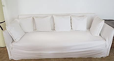 Gervasoni Ghost 12 de sofá, colour de la tela lavado a la ...