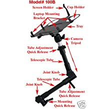 Notebook Laptop GPS Mount Desk Auto Car Truck Stand w/Cup Holder