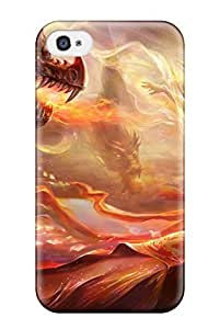 Hard Plastic Iphone 4/4s Case Back Cover,hot Dragon Case At Perfect Diy