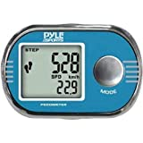 Pyle Sports PPD71 Pedometer Personalized Calibration for Walking and Running