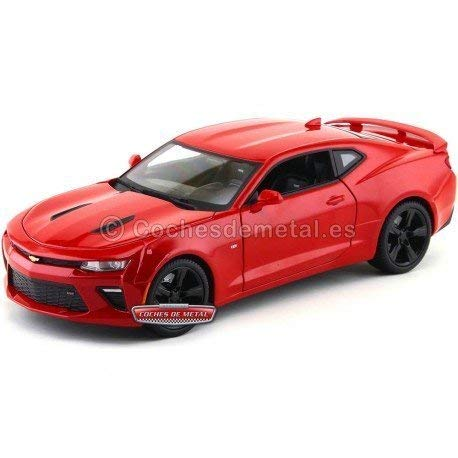 Maisto 31689 2016 Chevrolet Camaro SS Red 1/18 Diecast Model Car