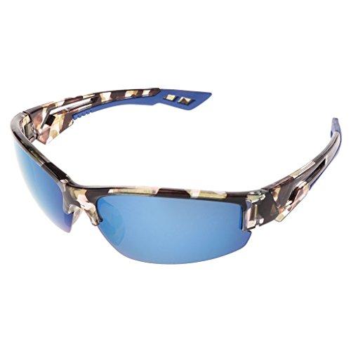 Cyclisme unettes Bleu Lunettes UV400 Lunji de de pour Ski Protection Sports Pêche Soleil azpABxpwq
