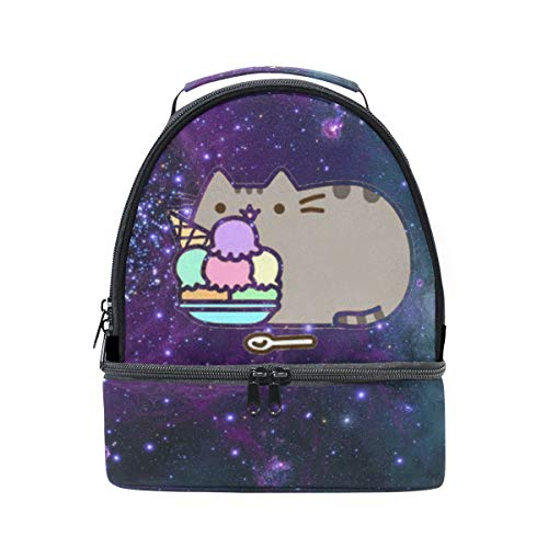 Lunch Box Space Cats On Pinterest Womens Insulated Lunch Bag Kids Zipper Lunch -