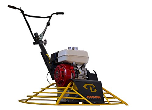 Packer Bros PB36-RS Rapid Shift Edger Trowel, Honda GX160 Gas Powered Motor, 36