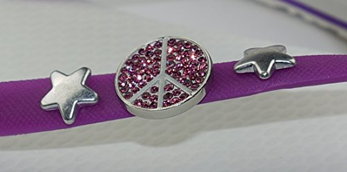 COVYS jandals purple/white #5107 women (Zehentrenner, Sandale, DIY, Pins) Purple/White