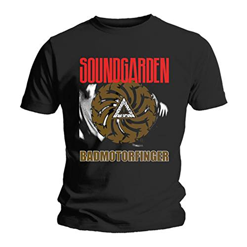 Soundgarden Badmotorfinger Chris Cornell offiziell Männer T-Shirt Herren