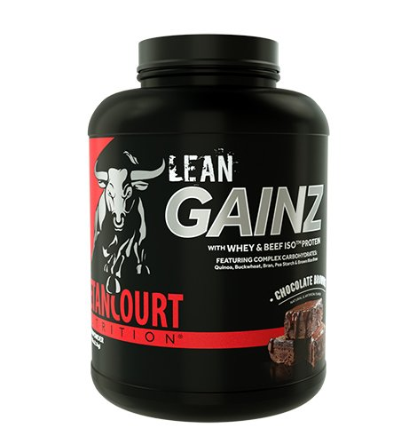 (Betancourt Nutrition Lean Gainz Whey Protein, Chocolate Brownie, 5 Pounds)
