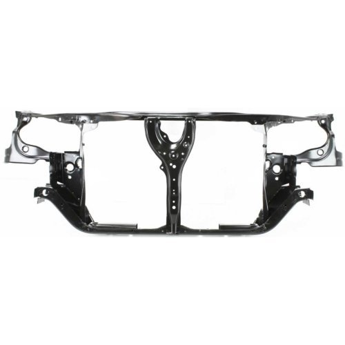 Garage-Pro Radiator Support for HONDA ACCORD 98-02 Assembly Black Steel w/A/C
