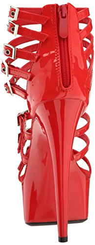 609 Platform Ellie Red Dress Shoes Sandal Neve Women n1gFRO