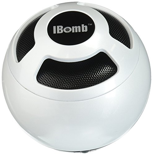 IBomb Thunder Ball EX800WH IBomb Thunder Ball Bluetooth Speaker, White by IBomb Thunder Ball
