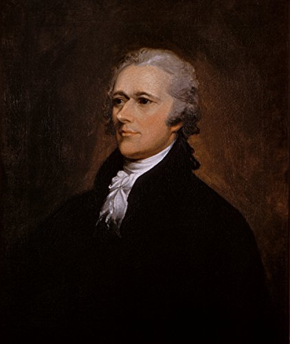 Alexander Hamilton Portrait by John Trumbull Poster Art Photo American Historical Posters Artwork 11x14