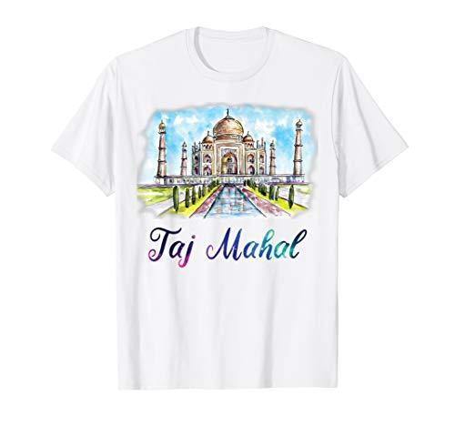 Taj Mahal the Tomb Gift Indian Agra Travel Souvenir Momento T-Shirt