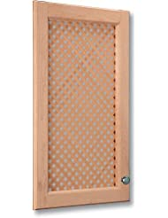 Omega National Solid Wood Lattice Inserts Mini Diagonal White Oak