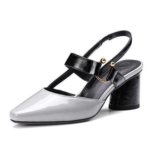 Donyyyy mujeres sandalias de tacón alto, sandalias de tacón y Thirty-six