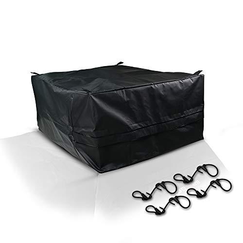 Waterproof Truck Bed Cargo Carrier Luggage Storage Travel Bag For Pickup Chevy Silverado Colorado GMC Sierra Canyon Ford F150 Crew Cab F250 F350 Toyota Tacoma Tundra Dodge Ram Nissan Mazda Honda