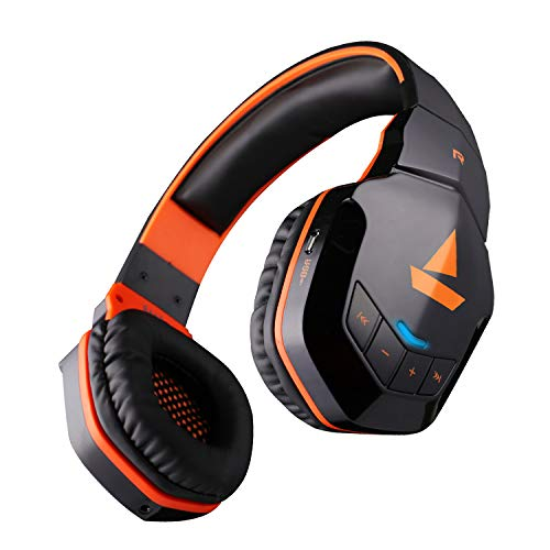 Boat Rockerz 510 Bluetooth Headphone with Thumping Bass, Up to 10H Playtime, Dual Connectivity Modes, Easy Access Contro
