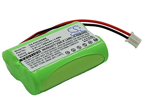 Battery for Philips SBC-S477 SBC-S484 SBC-SC466 SBC-SC477 SBC-SC484 2.4V 1200mAh