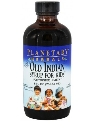 Planetary Herbals Echinacea - Planetary Herbals Old Indian Syrup for Kids, for Winter Health,8 Ounces