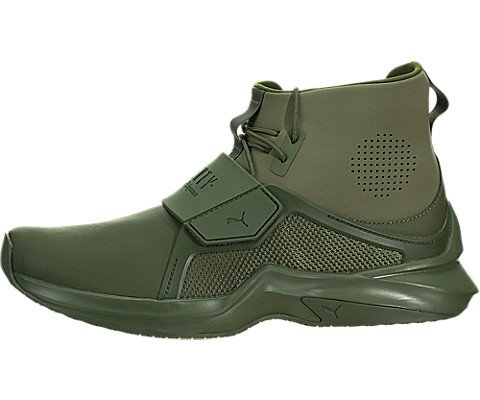 Boots Shoes Trainers (PUMA Women's Fenty X High Top Trainer Sneakers, Cypress, 8 B(M) US)