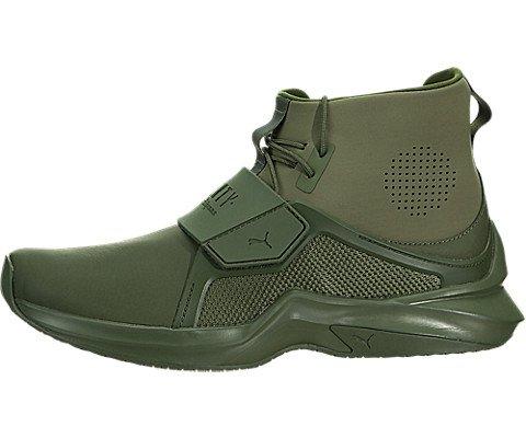 PUMA Women's Fenty X High Top Trainer Sneakers, Cypress, 8.5 B(M) US