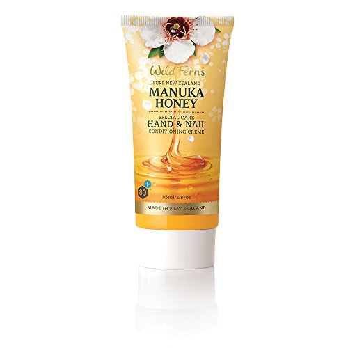 Wild Ferns New Zealand Manuka Honey Hand and Nail Cream (One tube)