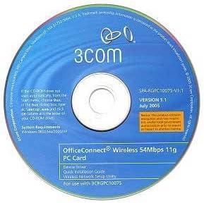 3Com 3CRGPC10075 Wireless PCMCIA LAN PC Card