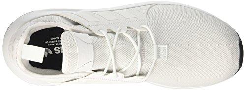 Basses Adidas footwear Homme plr Black White core vintage X Sneakers White Blanc qqaRfxStw