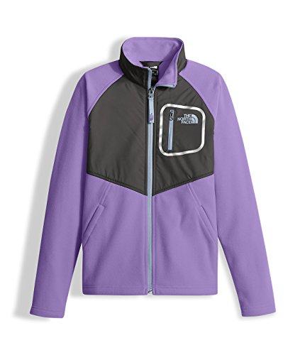 The North Face Girls' Glacier Track Jacket Paisley Purple L