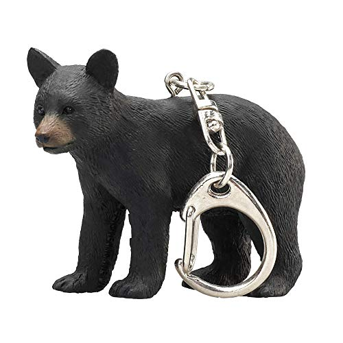 Black Bear Keychain - MOJO Black Bear Cub Keychain