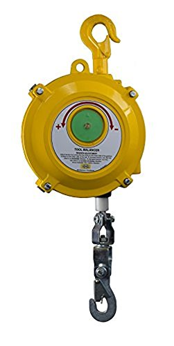Hubbell Workplace Solutions GR62427101 BH-22 Tapered Drum Tool Balancer for Tools Weighing 33 - 48 lb., Aluminum Housing, 4.5' Heavy Duty Steel Rope