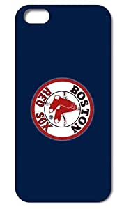 Tomhousmick design Forever Collectibles Dual Hybrid Case for iPhone 6 4.7- Retail Packaging -MLB Boston Red Sox