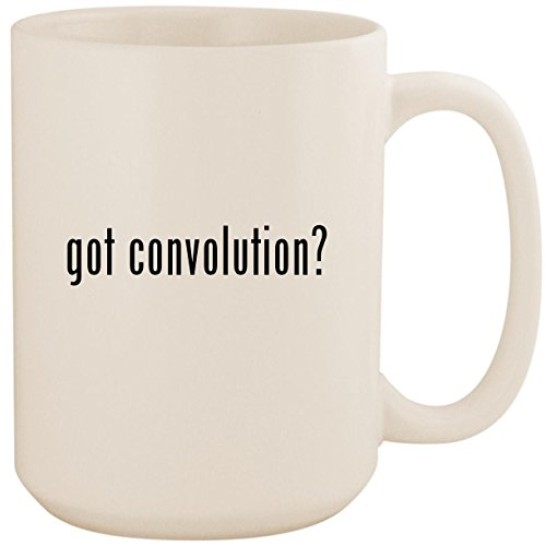 got convolution? - White 15oz Ceramic Coffee Mug Cup