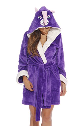 6315-Unicorn-XXL Just Love Critter Robe / Robes for Women, Unicorn (Velour), XX-Large ()