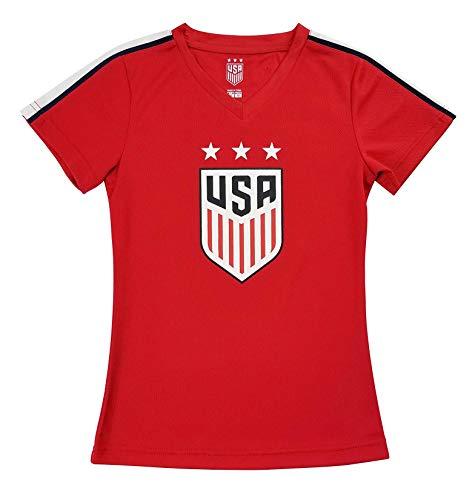 US Soccer Alex Morgan - Red Girl's Jersey (Girl's Medium) ()