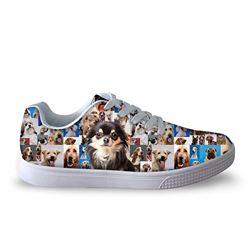 3D Men Animals Women Sneaker U Casual Print FOR Fashion Shoes 2 DESIGNS Dog Skateboard f1wtq1YH