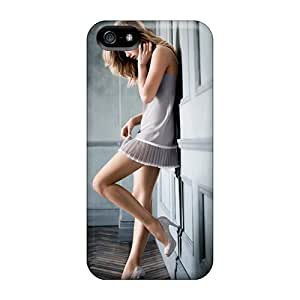 Flexible Tpu Back Case Cover For Iphone 5/5s - Doutzen Kroes Victorias Secret Supermodel