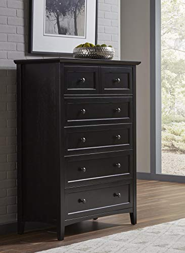 Modus Furniture 4N0284 Paragon Five-Drawer Chest, Black from Modus Furniture