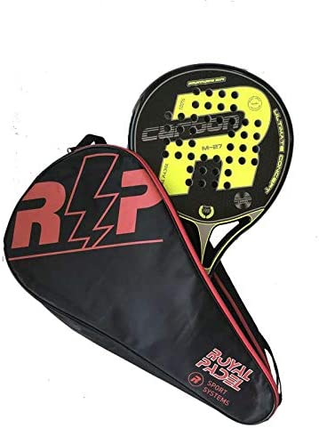 Pala de padel Royal Padel M27 Carbon Amarilla 2019: Amazon.es ...