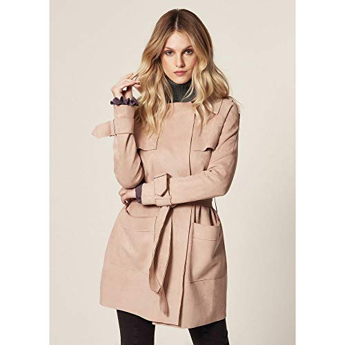 Trench Coat Suede Camel - G